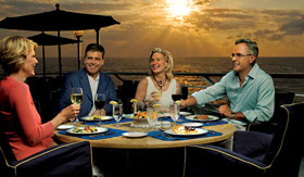Oceania dining Terrace Cafe