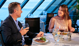Oceania Tuscan Steak dining