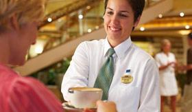 Princess Cruises dining Afternoon Tea