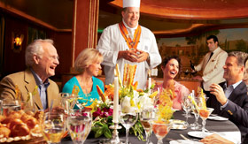 Princess Cruises dining Chef's Table