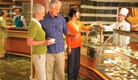 Princess Cruises dining International Cafe