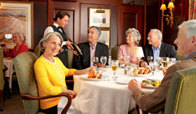Princess Cruises dining Main Dining Room