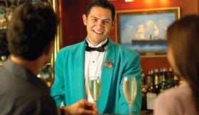 Princess Cruises dining Wheelhouse Bar Pub Lunch