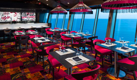 Royal Caribbean International dining Izumi