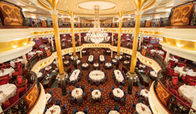 Royal Caribbean International dining Main Dining Room