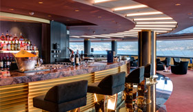 Top Sail Lounge aboard MSC Cruises