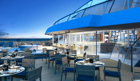 Viking Oceans dining Aquavit Terrace