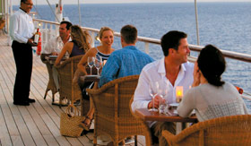 Windstar Cruises Candles Grill