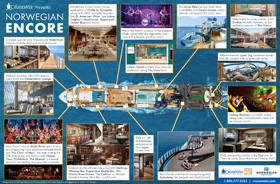 Infographic for Norwegian Encore Cruise Ship