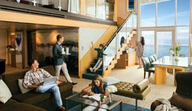 Spacious Royal-class suite