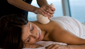 A luxurious massage treatment