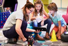 STEM Program Activities - Courtesy of Celebrity Cruises