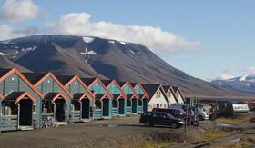 Tiny homes in Longyearbyen