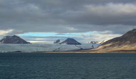 Panorama of Spitsbergen National Park