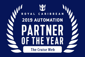 2019 Automation Partner of the Year: The Cruise Web - Courtesy of Royal Caribbean