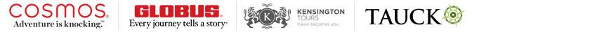 Award-winning land tour brands: Cosmos Tours | Globus Journeys | Kensington Tours | Monograms | Tauck