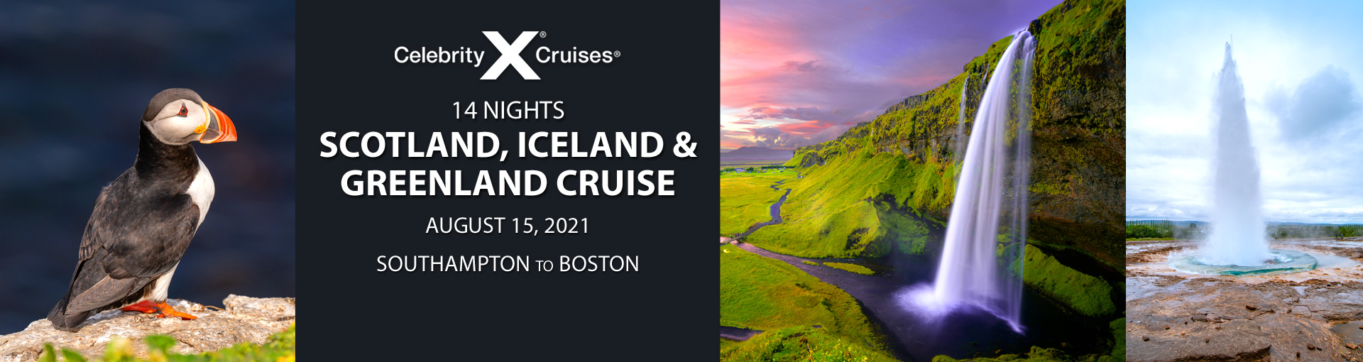 Celebrity Cruises: Exclusive offer for Iceland and Greenland cruise departing Aug 15, 2021