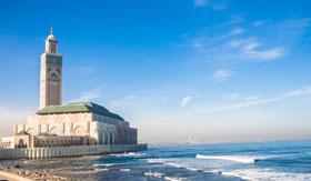 Seaside in Casablanca