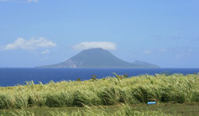 St Kitts Volcano