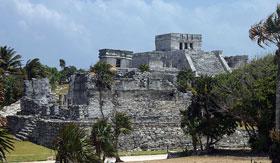 Ruin in Tulum, Mexico