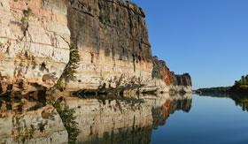 Scenic river in western Australia