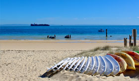 Beautiful Moreton Island beaches