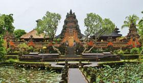 Ubud Palace in Bali