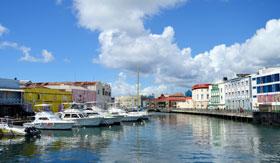 Marina in Bridgetown, Barbados