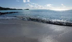 Beach in St. John's, Antigua