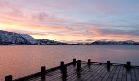 Fjords in Tromso