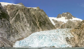 Kenai Glacier in Alaska