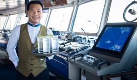 Open Bridge aboard Windstar's Star Pride