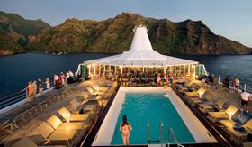 Pool aboard ms Paul Gauguin
