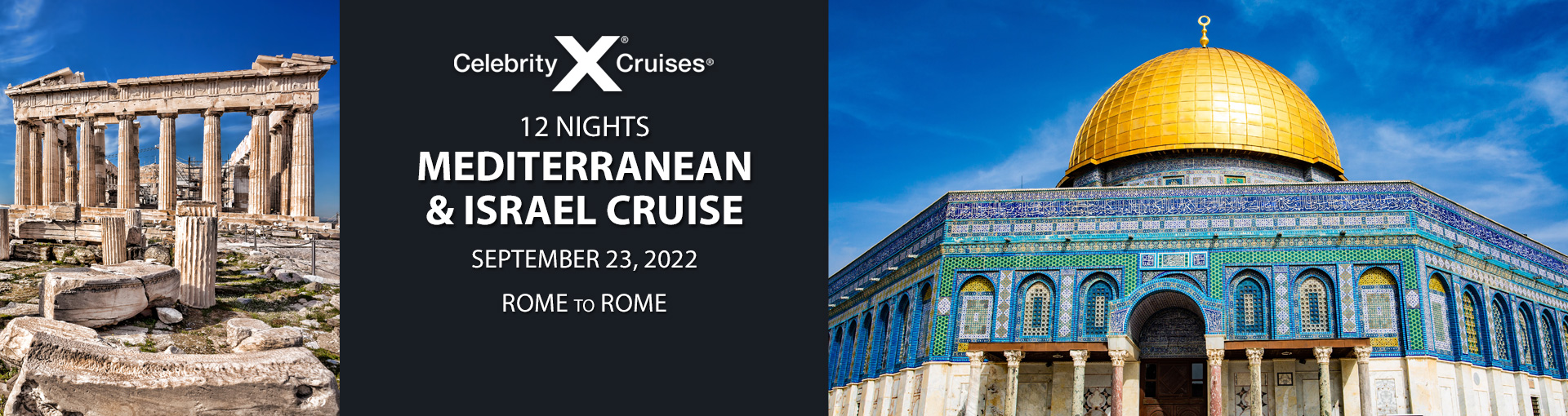 Exclusive Travelzoo offer for Celebrity Cruises' Israel and Mediterranean Itinerary