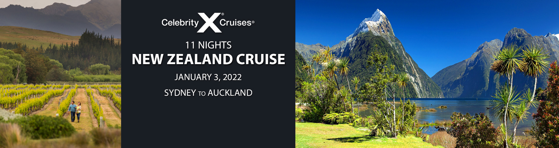 Exclusive Travelzoo offer for Celebrity Cruises' New Zealand Itinerary