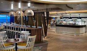Oceanview Cafe aboard Celebrity Millennium