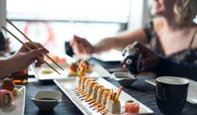 Sushi on Five aboard Celebrity Millennium