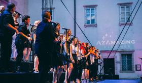 Live music at an AzAmaing Evening event on Azamara Onward