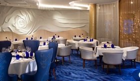 Blu Restaurant aboard Celebrity Beyond