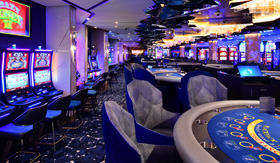 Casino aboard Celebrity Beyond