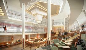 The Grand Plaza aboard Celebrity Beyond
