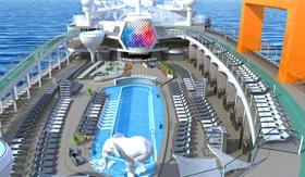 Resort Deck aboard Celebrity Beyond