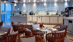 Spa Cafe and Juice Bar aboard Celebrity Beyond