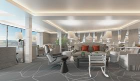 The Retreat Lounge aboard Celebrity Beyond