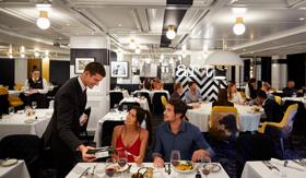 Tuscan Restaurant aboard Celebrity Beyond