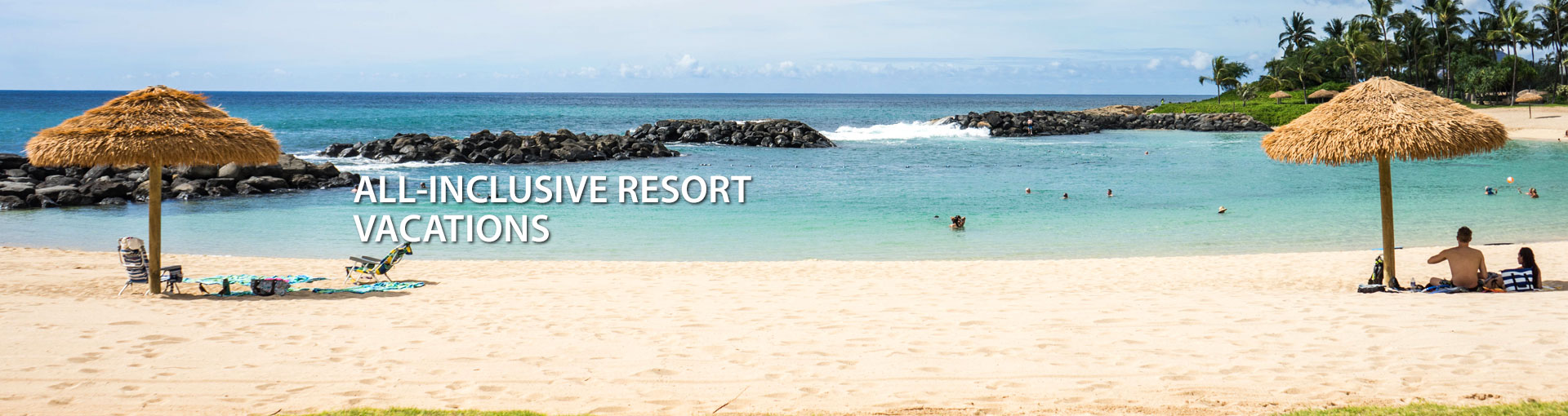 All-Inclusive Resort Vacations Banner