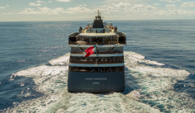Aft image of World Navigator, an all inslusive cruise ship