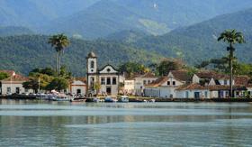 Gold Rush City of Paraty, Brazil
