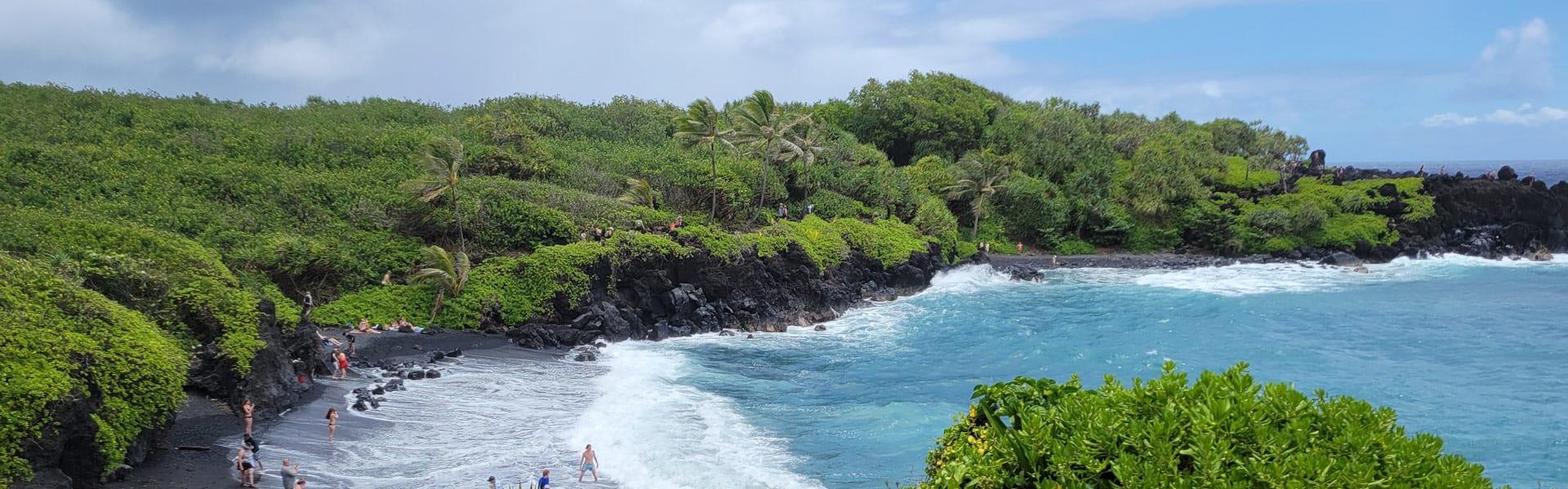 Hawaii vacation on the beach