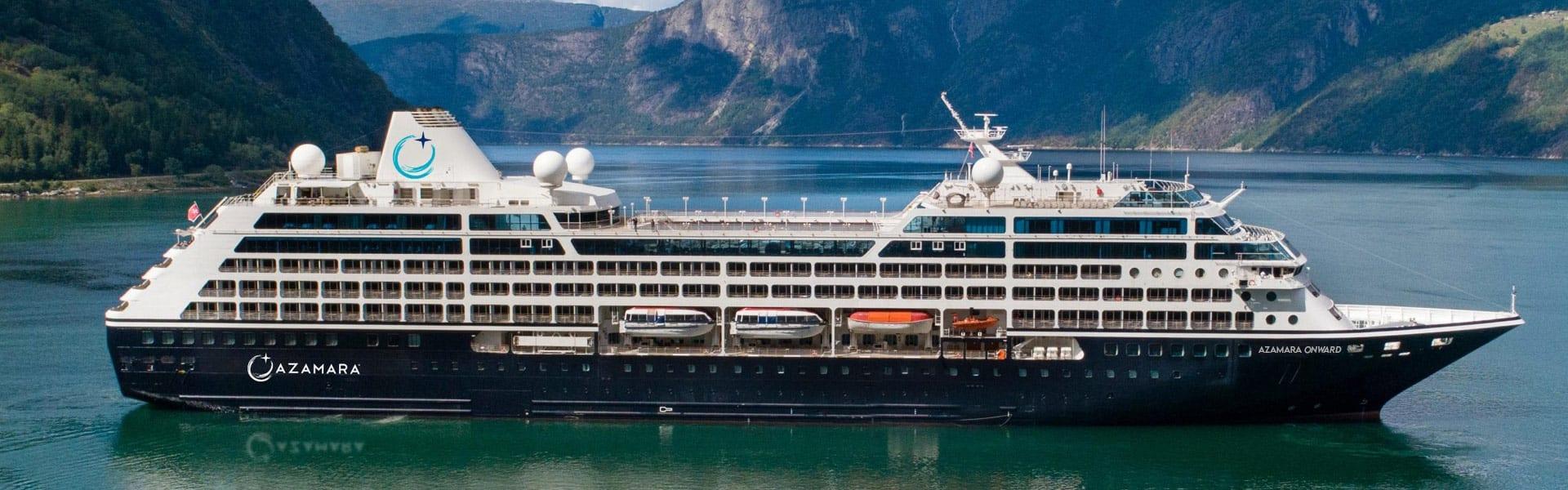 Azamara Onward at sea